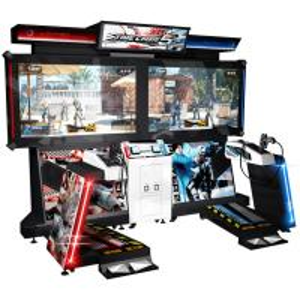 Quality 110V / 220V Time Crisis 5 Arcade Machine , Large Shooting Video Slot Machines for sale
