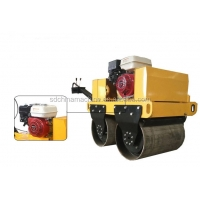 Quality Cheap Price Manual Steel Road Equipment Mini Road Roller Used For Compacting Gravel Soil Asphalt Roads for sale