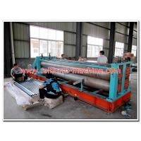 China Barrel Type Metal Roof Sheets Corrugation Machine for Full Hard Steel Material 0.15-0.40mm Thick on sale