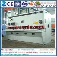 China Hydraulic Guillotine Shearing Machine , Hardware Steel Plate Cutting Machine on sale