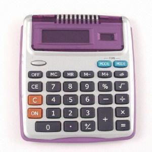 Quality Desktop Calculator with Digital Clock for sale