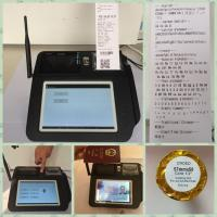 Best 7 Inch Screen Android POS Terminal , Fingerprint Identification Point of Sale for Android wholesale
