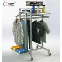 Buy cheap MOQ 20pcs Clothing Store Fixtures Factory Price Metal Clothing Rack For Retail Store from wholesalers