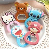 Quality Animal Shaped PVC Personalised Bottle Opener , Promotional Bottle Openers Gifts for sale
