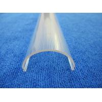 Quality Extrusion profiles plastic clear cover for Polycarbonate led light diffuser for sale