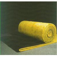 Best Sound Absorption Glass Wool Blanket / Felt Roll Faced With Black Glass Tissue wholesale