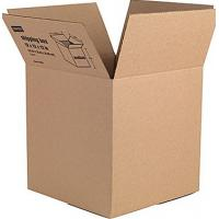 Quality Corrosion Resistant Thick Cardboard Mailing Boxes Aseptic Waxed Corrugated Boxes for sale
