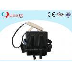 China 100W Back Pack MOPA Fiber Laser Rust Remover Machine for sale