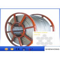 Quality Hexagon 12 Strands Anti Twist Wire Rope Steel Wire Rope 11Mm - 24Mm Diameter for sale