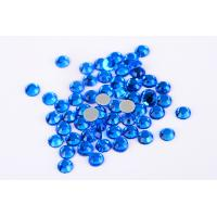 Small Loose Octagon Heat Fix Rhinestones 1.5mm - 10mm With Even Facets