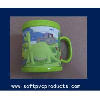 Quality Unique Funny Personalized Custom Coffee Mugs with Soft PVC , Rubber , Silicone for sale