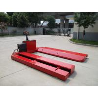 Best Customized Paper Roll Pallet Truck With Extreme Wide Leg / Roll Lift Pallet Jack wholesale