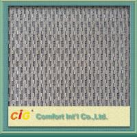 China Woven Custom Vehicle Grey Upholstery Fabric for Seat Cover / Lining on sale
