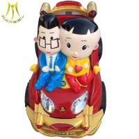 China Hansel amusement outdoor electric horses ride infant rocking horse toy for mall on sale
