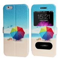 Best Cartoon Printing  iphone 6 and Plus Iphone Leather Case for Girl with Stand wholesale
