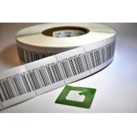 Quality Supermarket Anti Theft Printing EAS RF Soft Label RFID Labels With Barcode for sale