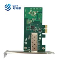 Quality F901E compatible Allied Telesis 2911 PCI Express Gigabit Intel I210 Network Card for sale