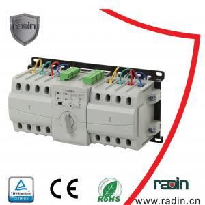 Quality 100 Amp Generator Manual Transfer Switch , Hotels Generator Switchover Switch for sale