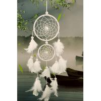 Quality White Dream Catcher Feather Decoration Home Decor Yiwu Craft, Party Decoration pretty Colors Available Wholesale Indian for sale