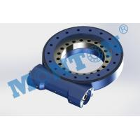 Quality Compact Design Worm Drive Slew Ring , Solar Slew Drive Precision Grade IP65 for sale