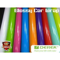 Quality Glossy Car Wrapping Vinyl Films--Glossy colors for choose for sale