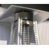 Quality Durable Stand Up Pyramid Outdoor Gas Patio Heater With Flame 8KW Power for sale