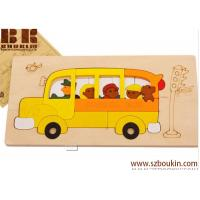 China 3D Wooden Jigsaw Puzzle education toy customized wooden puzzle on sale