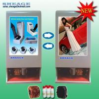 China Advertising Shoe Polisher -rolling images, Automatic Shoe Shiner, Shoe Cleaner SHE-G215(NEW) on sale