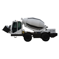 Quality self loading concrete mixer truck H4000 (4 m³, integrated chassis) for sale
