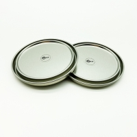 China Silver Tinplate ring+lids+bottom, customized color, thickness and mold on sale