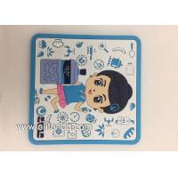Quality Factory Supply Soft PVC rubber Table Coasters for promotion gifts for sale