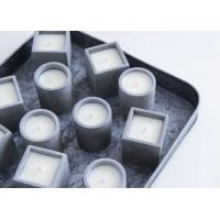 China Concrete Candle Holder Silicone Mold Cement Planter Candlestick Aromatherapy Candle Cup Molds on sale