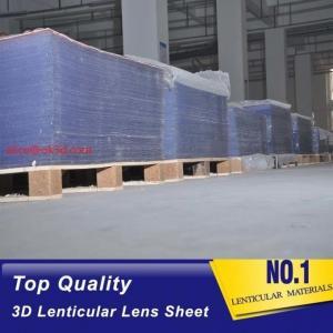 Quality Injekt print / UV print material 75LPI 0.45mm Lenticular Lens Sheet material with good Lenticular Printing Effect for sale