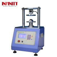 Buy cheap Touch Screen Compressive Strength Testing Machine Ring Crush Tester Edge Crush from wholesalers