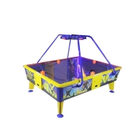 Quality 4 Players Air Hockey Arcade Machine For Entertainment Center for sale
