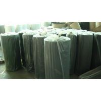 China Elastic Sbr Neoprene Rubber Sheet / Roll With Polyester Fabric on sale