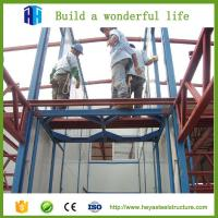 Quality steel frame light metal building prefabricated industrial warehouse for sale