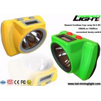 China 18000Lux Rechargeable LED Mining Headlamp Wireless Ultra Bright Handy Switch on sale