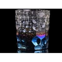 Best Debossed Iridescent Glass Candle Holders For Wedding Home Decoration wholesale