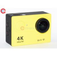 Quality Colorful Ov4689 4k 25fps Action Camera With 2.4 G Remote Comtroller For Diving for sale