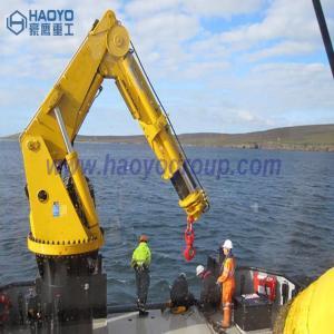 Quality Knuckle Boom Offshore Pedesta Crane Operator Marine Ship Deck Crane for sale