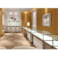 China Jewellery Shop Display Cabinets / Store Display Cases Eco - Friendly Material on sale