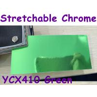 Quality Stretchable Chrome Mirror Car Wrapping Vinyl Film - Chrome Green for sale