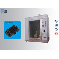 Quality Glow Wire Tester Electrical Safety Test Equipment IEC60695-2-10 With Observation Window for sale