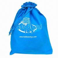 Quality Promotional Drawstring Bag, Nonwoven Fabric, Measures 43 x 54cm, OEM Orders are Welcome for sale