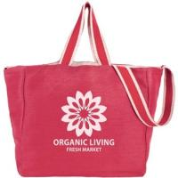 "Best Two-Tone Strap Custom Tote Bags - 14.5""w x 12.5""h x 7""d wholesale"