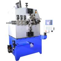 Quality Three To Five Axes Wire Diameter Spring Coiling Machine Wire Feed Length Unlimited for sale