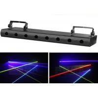 China Red Green 8 Heads Laser Beam Lights , Dj Laser System Projector Equipment on sale