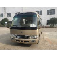 Quality Diesel Coaster Automobile 30 Seater Bus ISUZU Engine With Multiple Functions for sale