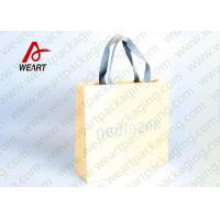 Best Cotton Rope LOGO Printable Promotional Paper Bags Small Size OEM wholesale